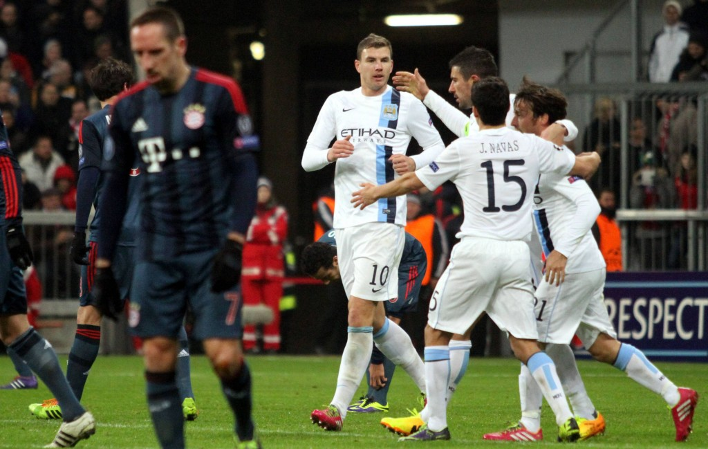 FOOTBALL : Bayern Munich vs Manchester City - Ligue des Champions - 10/12/ 2013